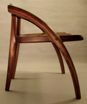 Angled Arch Chair by Todd Ouwehand