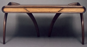 Angled Arch Desk by Todd Ouwehand