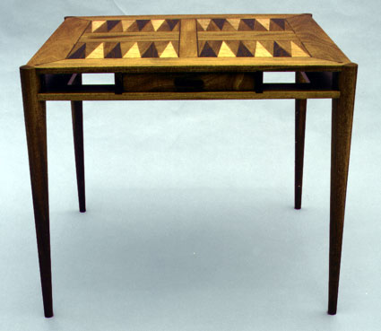 Backgammon Table by Todd Ouwehand