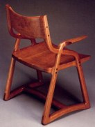 Boulgarides Armchair by Todd Ouwehand