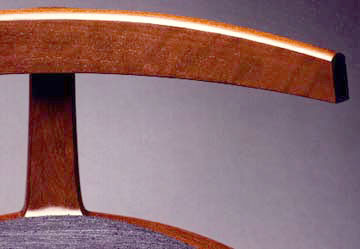 Cantilevered Ellipses Chair by Todd Ouwehand