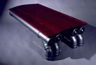 Rocket Table by Todd Ouwehand