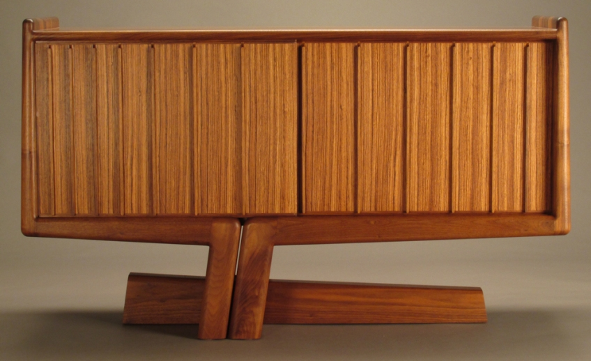 Cantilevered Credenza by Todd Ouwehand