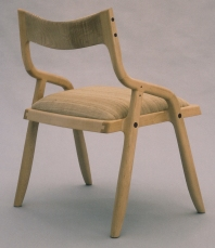 Upholstered Armchair by Todd Ouwehand